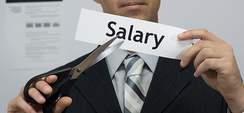 Would you take a salary cut and have the same commitment?